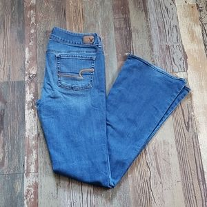 AE! Distressed Artist Jeans. Women's size 10